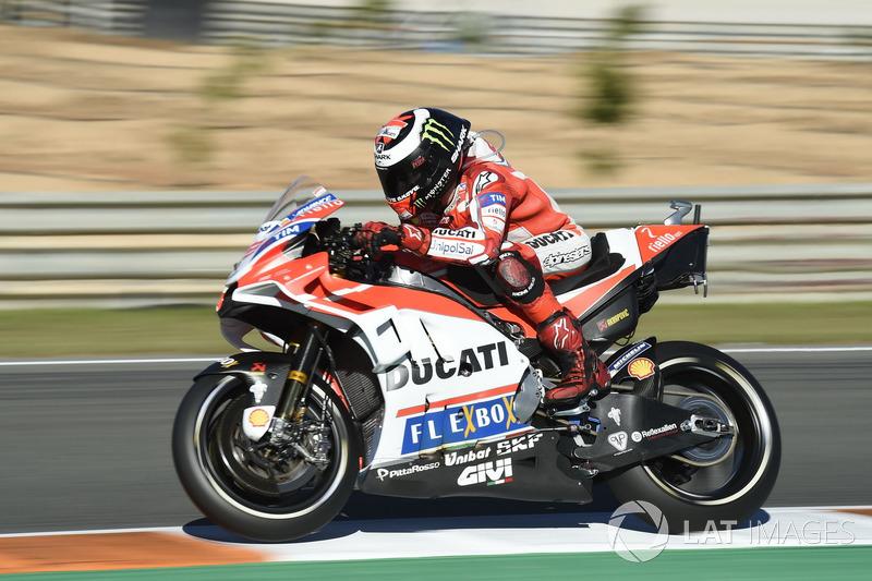 2017: MotoGP, 7º - Jorge Lorenzo - Ducati