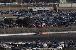 Kyle Larson, Chip Ganassi Racing Chevrolet, crash