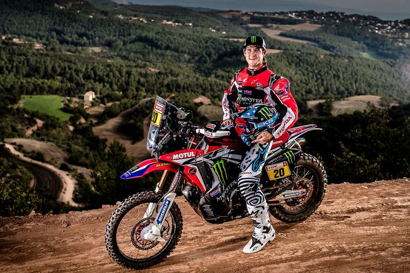 #20 Monster Energy Honda Team: Ricky Brabec