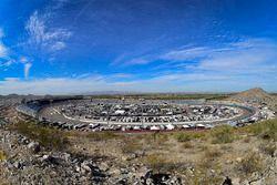Panoramica della pista