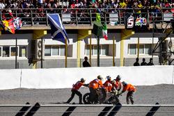 Crash, Alvaro Bautista, Aspar Racing Team