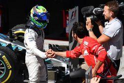 Felipe Massa, Williams celebra en parc ferme