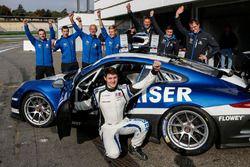 Matthias Kaiser avec son équipe