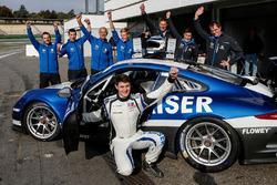 Matthias Kaiser mit ihrem Team