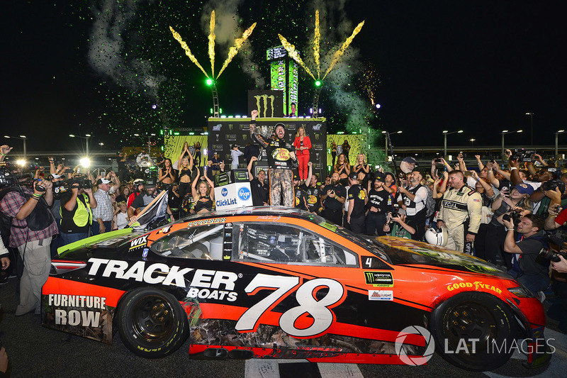 1. Martin Truex Jr. (Furniture-Row-Toyota): Champion mit P1 im Rennen