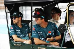 Tom Blomqvist, Andretti Formula E Team, Alex Lynn, DS Virgin Racing, Antonio Felix da Costa, Andrett