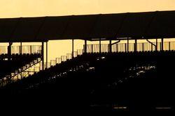 Anochecer en Silverstone