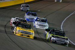 Justin Haley, GMS Racing, Chevrolet Silverado Fraternal Order Of Eagles and Dalton Sargeant, GMS Rac
