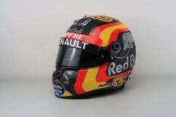 Helm van Carlos Sainz Jr., Renault Sport F1 Team