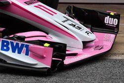 Sahara Force India VJM11 nose and front wing