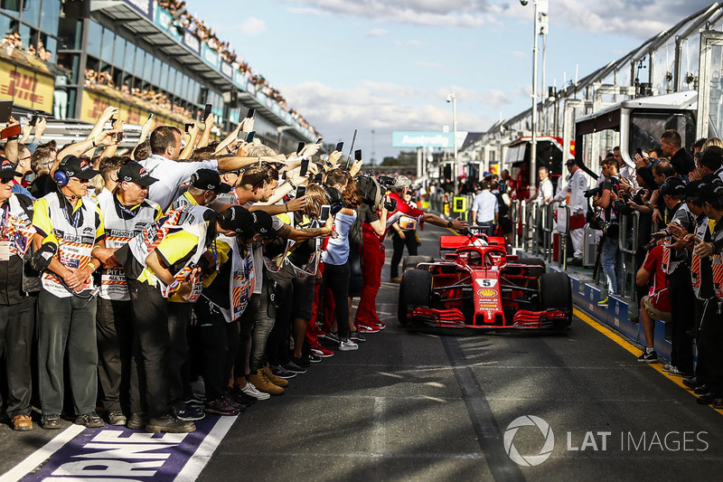 Melbourne - Sebastian Vettel - 3 vitórias