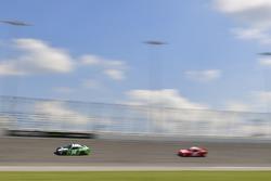 Daniel Suarez, Joe Gibbs Racing, Toyota Camry Juniper Networks, Vinnie Miller, JD Motorsports, Chevrolet Camaro Gerber Collision & Glass