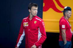 Daniił Kwiat, Ferrari