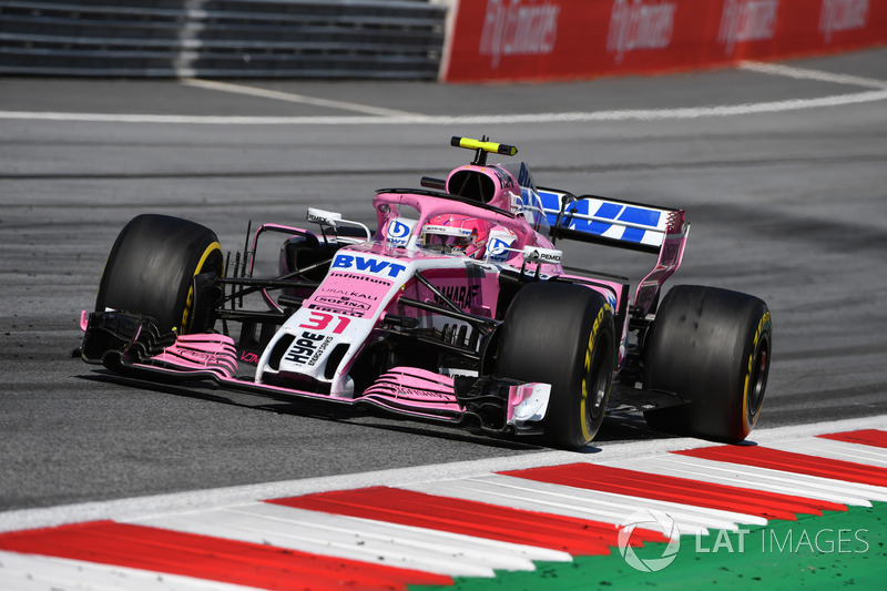 P6: Esteban Ocon, Force India VJM11