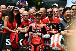 Tercer lugar Marco Melandri, Aruba.it Racing-Ducati SBK Team