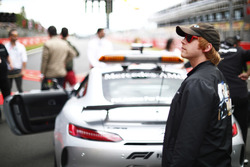 Actor Rupert Grint on the grid