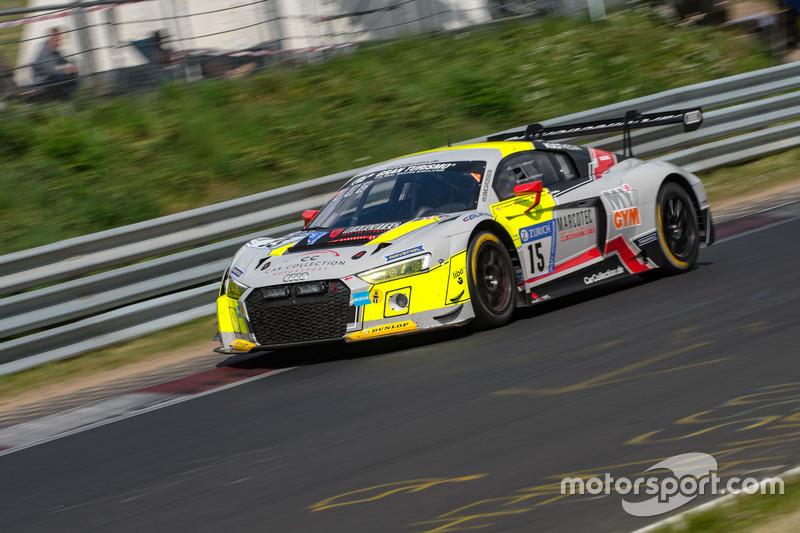 20. #15 Car Collection Motorsport Audi R8 LMS GT3: Adrien de Leener, Simon Trummer, Pierre Kaffer