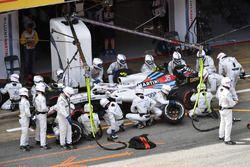 Sergey Sirotkin, Williams FW41 aux stands