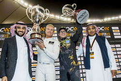 Winner David Coulthard, second place Petter Solberg