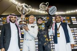 Winnaar David Coulthard, tweede plaats Petter Solberg