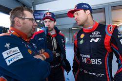 Andreas Mikkelsen, Hyundai Motorsport, Anders Jäger, Hyundai Motorsport