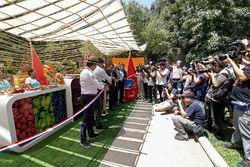 Alejandro Agag, CEO de Fórmula E en la Ceremonia de Inauguración del stand de E-Village de Ciudad de