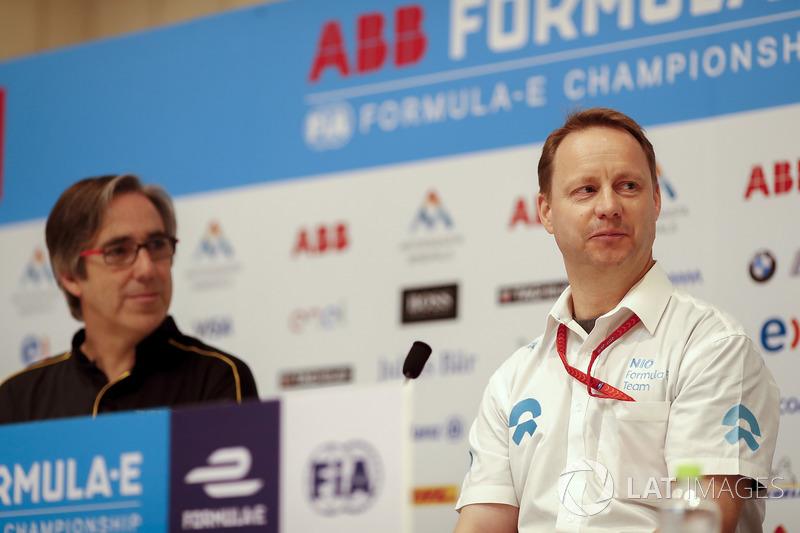 Press conference with Mark Preston, Techeetah Team Principal, Gary Hughes, Team Principal NIO Formula E Team