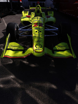La voiture de Simon Pagenaud, Team Penske Chevrolet