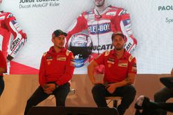 Jorge Lorenzo und Andrea Dovizioso