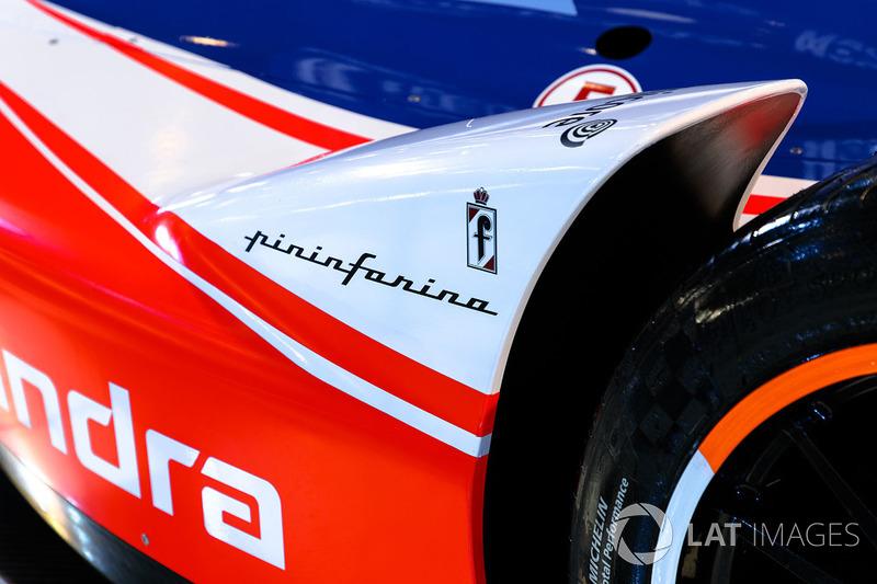 Mahindra Racing Formula E, Pininfarina logo