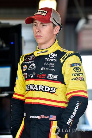 Brandon Jones, Joe Gibbs Racing, Toyota Camry Menards/Tide