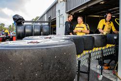 Charlie Schwerkolt Racing team members at work