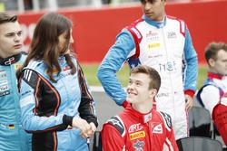 Tatiana Calderon, Jenzer Motorsport and Callum Ilott, ART Grand Prix