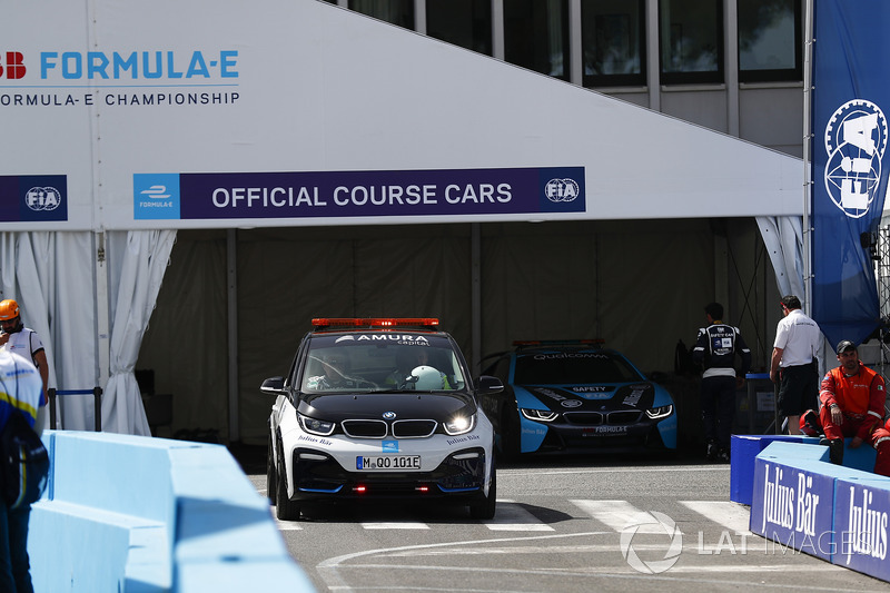 Official Course Cars in their garage