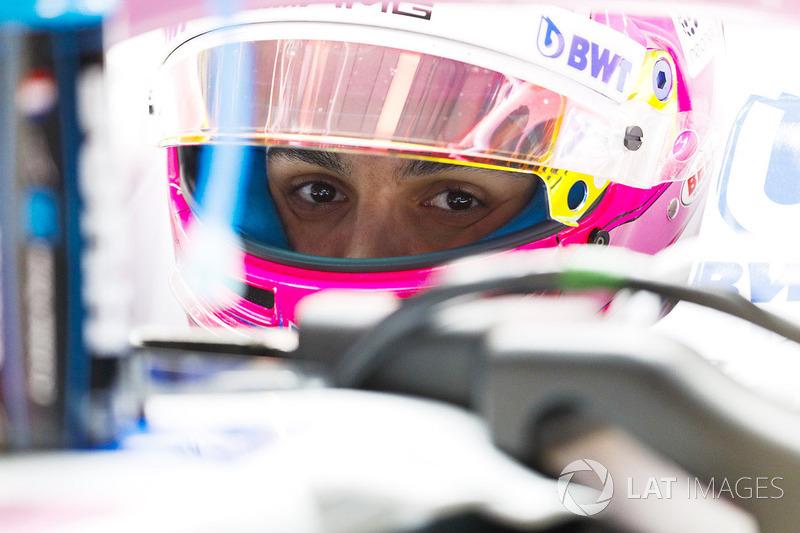 14. Естебан Окон, Force India — 1