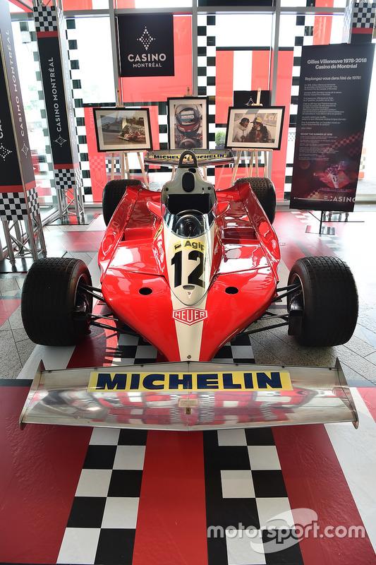 Gilles Villeneuve's winning Ferrari T3