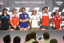 Francesco Bagnaia, Sky Racing Team VR46, Jack Miller, Pramac Racing, Valentino Rossi, Yamaha Factory Racing, Marc Marquez, Repsol Honda Team, Danilo Petrucci, Pramac Racing, Andrea Dovizioso, Ducati Team