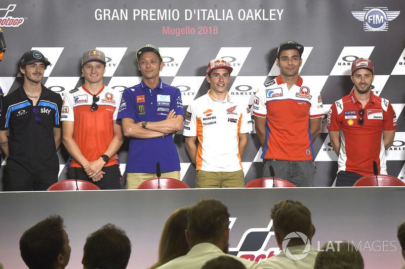Francesco Bagnaia, Sky Racing Team VR46, Jack Miller, Pramac Racing, Valentino Rossi, Yamaha Factory