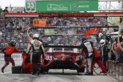 #93 Michael Shank Racing with Curb-Agajanian Acura NSX, GTD: Lawson Aschenbach, Justin Marks, pit stop