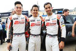 Гонщики Jackie Chan DC Racing Джазман Джафар, Вейрон Тан и Набиль Жеффри