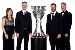 NASCAR Cup-Champion 2017: Martin Truex Jr., Furniture Row Racing Toyota, mit Crewchief Cole Pearn, T