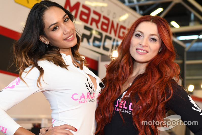 Ragazze del Motor Show di Bologna