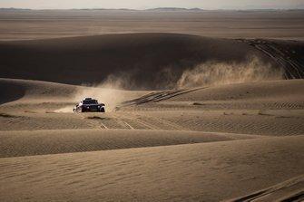 Стефан Петерансель и Паулу Фьюза, Bahrain JCW X-raid Team, Mini JCW Buggy (№302)