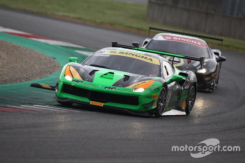 #161 Ferrari 488 Challenge, Ineco - MP Racing: Thomas Gostner
