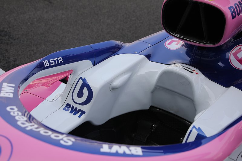 Cockpit de la Racing Point RP19