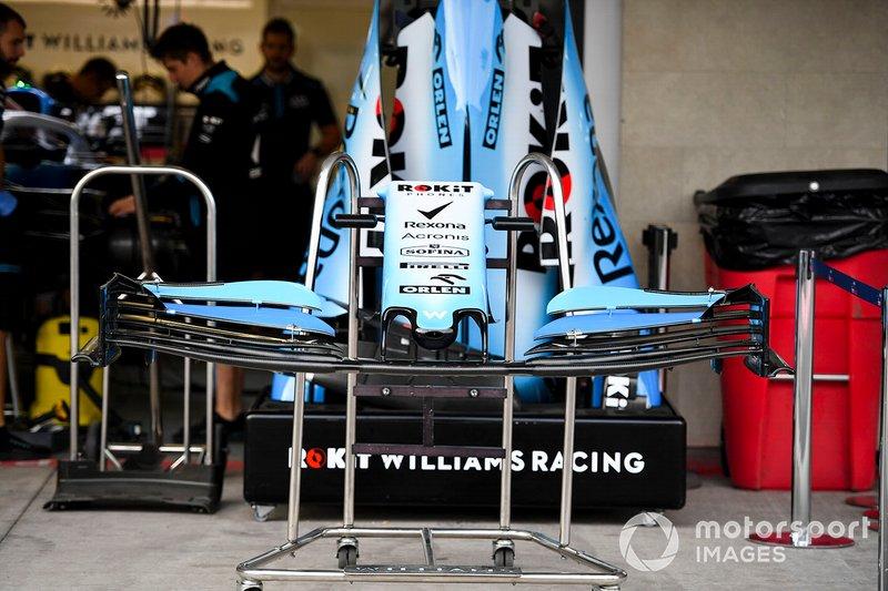 Alerón delantero del Williams Racing FW42