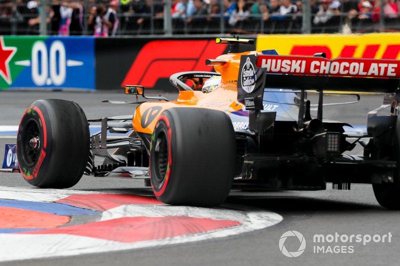 8: Lando Norris, McLaren MCL34, 1'16.322