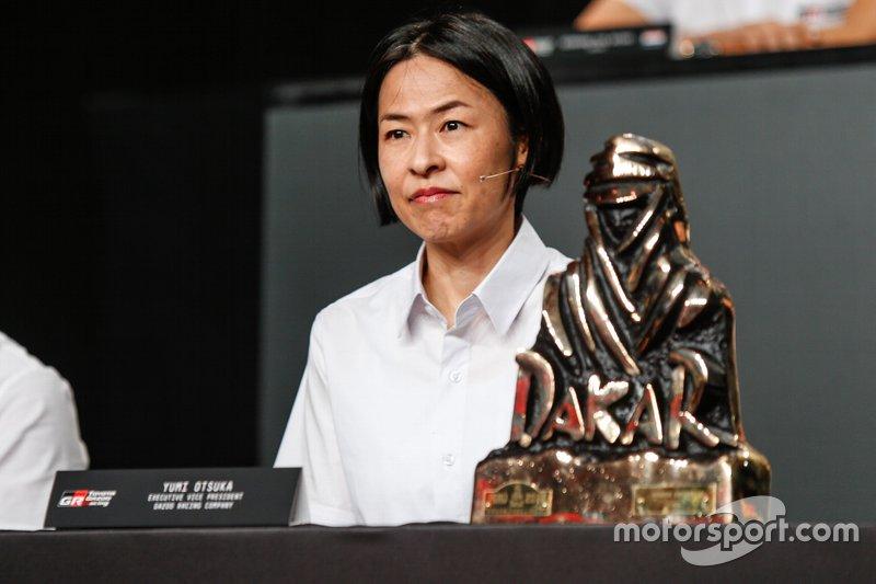 Юми Оцука, Toyota Gazoo Racing