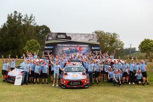 Hyundai WRC Şampiyonluğunu kutluyor, Avustralya Rallisi