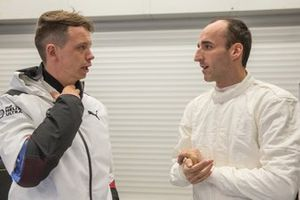 Nick Yelloly y Robert Kubica, BMW M4 DTM